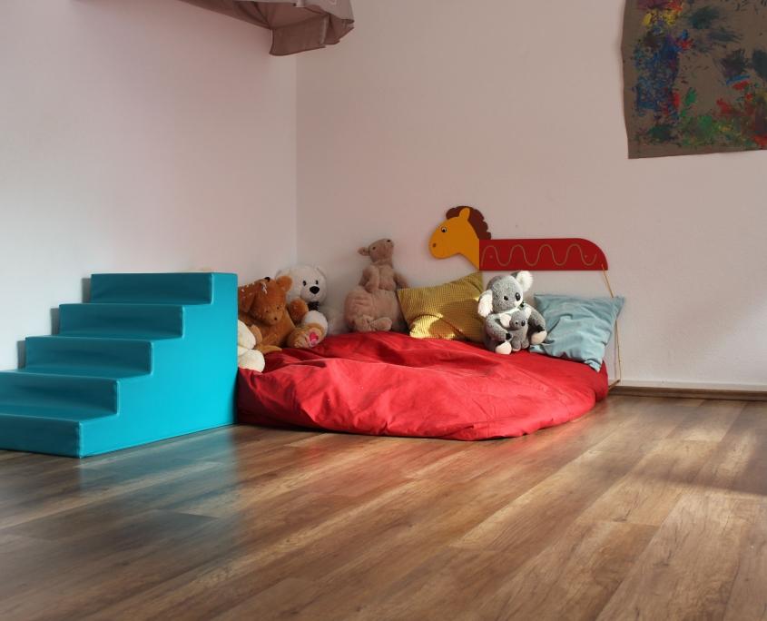 Kuschelecke im Schlafzimmer